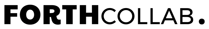 Logo forthcollab rouen, graphiste et webdesigner, realisation video photographie